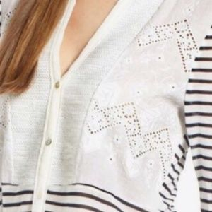 Anthropologie Tops - Tiny Anthropologie Sequin Placket Henley